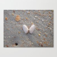 Canvas Print featuring angel wings by Love & Hide