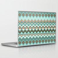 aztec Laptop & iPad Skins featuring Aztec by Priscila Peress