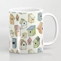 Bird Boxes Mug