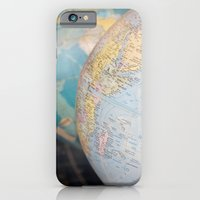 iPhone & iPod Case featuring Globes by redlinedesign®