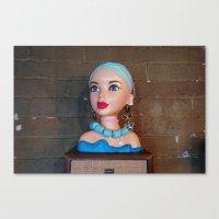 Mannequin - Detroit, MI Canvas Print