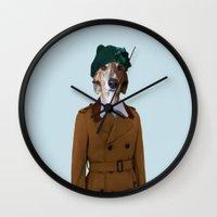 Monsieur Gastone Wall Clock