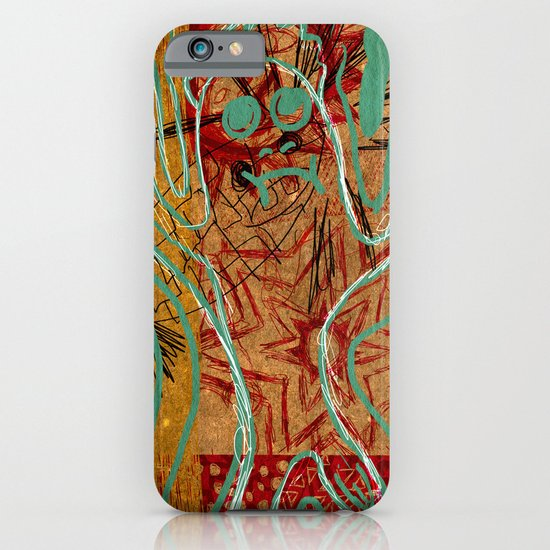 Crime Scene iPhone & iPod Case