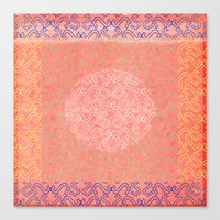Coral Treat  Canvas Print