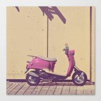 Love Pink Canvas Print