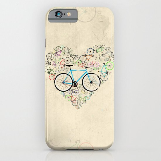 I Love My Bike iPhone & iPod Case