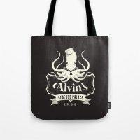 Alvin's Seafood Palace - Fantasy Vintage Logo Tote Bag