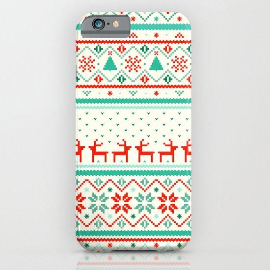 Festive Fair Isle iPhone & iPod Case