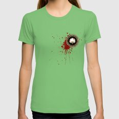 Minimal movie cover: Django Unchained Womens Fitted Tee Grass SMALL
