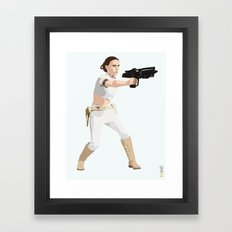 Padme of Star Wars Framed Art Print