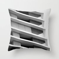 Arch-tech Throw Pillow