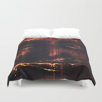 Red II Duvet Cover