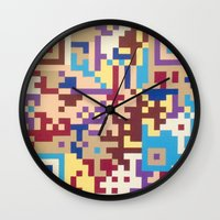 Number One Multicolour  Wall Clock