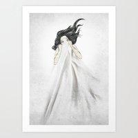 White As A Sheet Art Print
