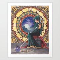 Princess Pluto Art Print