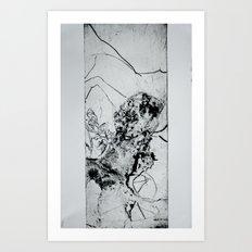 To Horst Janssen Art Print