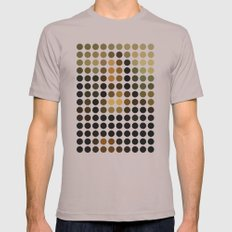 Mona Lisa Mens Fitted Tee Cinder SMALL