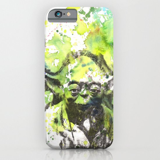 May the Force be with You Yoda Star Wars iPhone & iPod Case