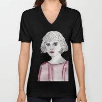 Pastel Girl 3 Unisex V-Neck
