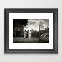 Services Framed Art Print