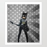 Bat Rocks Art Print
