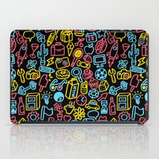 Galore (black version) iPad Case