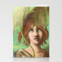 Green Dragon Stationery Cards