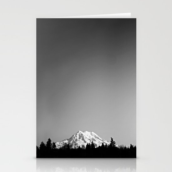 Mt. Rainier Stationery Card