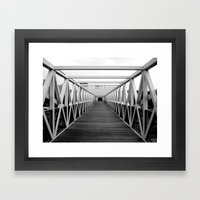 Irene Hixon Whitney Bridge Framed Art Print
