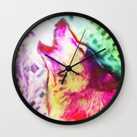 You're A Wolf  Wall Clock