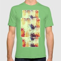 Slow Burn Mens Fitted Tee Grass SMALL