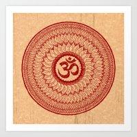 Lialiom Mandala Art Print