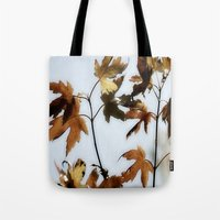 When Leaves Fall Tote Bag