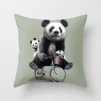ANGIN PETANG Throw Pillow