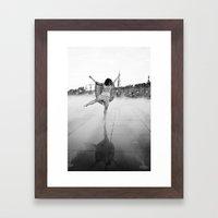 La Dernière Danse Framed Art Print