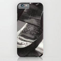 Droplets on Metal iPhone 6 Slim Case