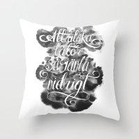 Swedish Love Making Throw Pillow