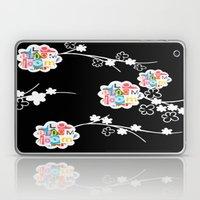 B&W Bloom Laptop & iPad Skin