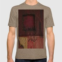 Squared Mens Fitted Tee Tri-Coffee SMALL