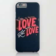 iPhone & iPod Case featuring Love & Let Love by Jillian Adel