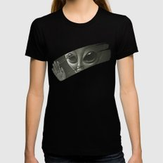 Alien Womens Fitted Tee Black MEDIUM