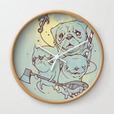 Sea Dogs Wall Clock