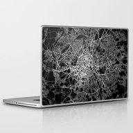 Paris Map #2 Laptop & iPad Skin