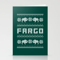 Fargo Sweater Stationery Cards