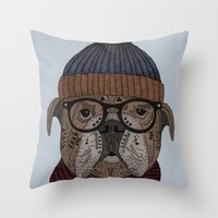 Uwe Throw Pillow