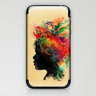 iPhone & iPod Skin featuring Wildchild by Budi Kwan