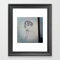 Self-portrait Framed Art Print