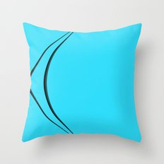 BLU_ Throw Pillow