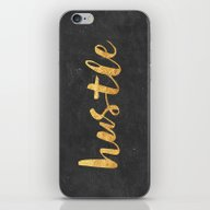 iPhone & iPod Skin featuring Hustle by Text Guy