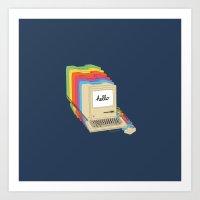 Macintosh Cascade Art Print